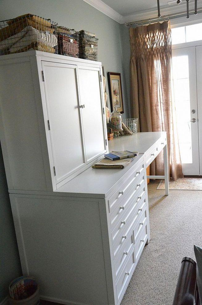 My New Craft Area With Martha Stewart Craft Furniture