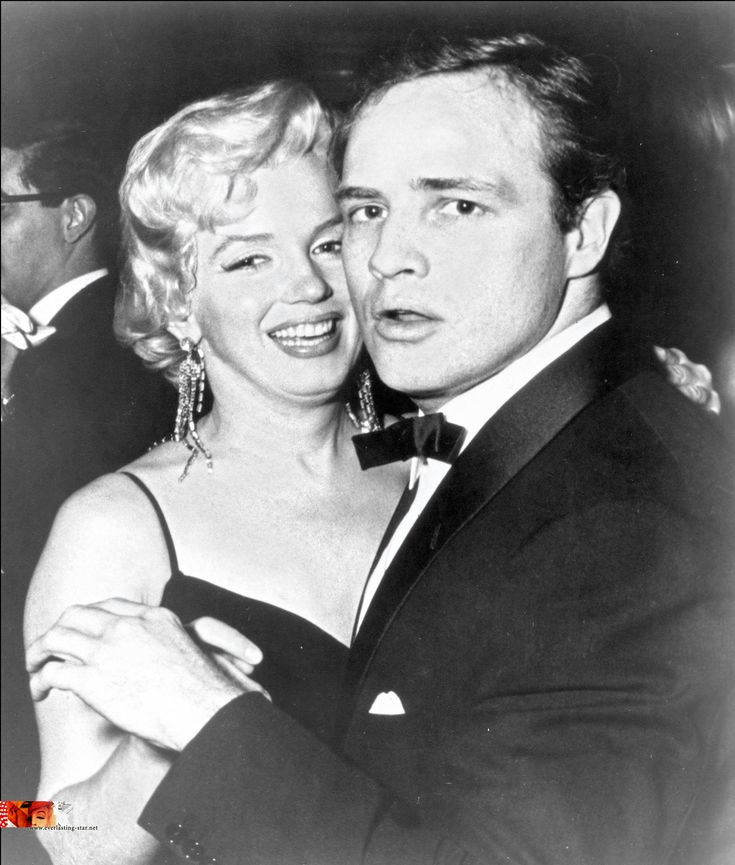 Marilyn Monroe and Marlon Brando | Marlyn Monroe | Pinterest