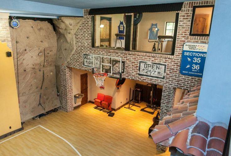 Indoor basketball court dream house dream house for How much is an indoor basketball court
