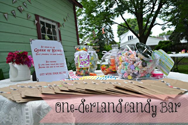 One-derland quot  Candy BarOne Candy Bar