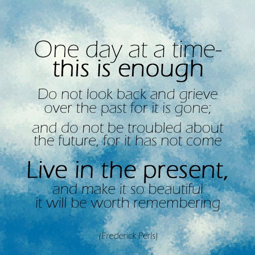 one day at a time - photo #26