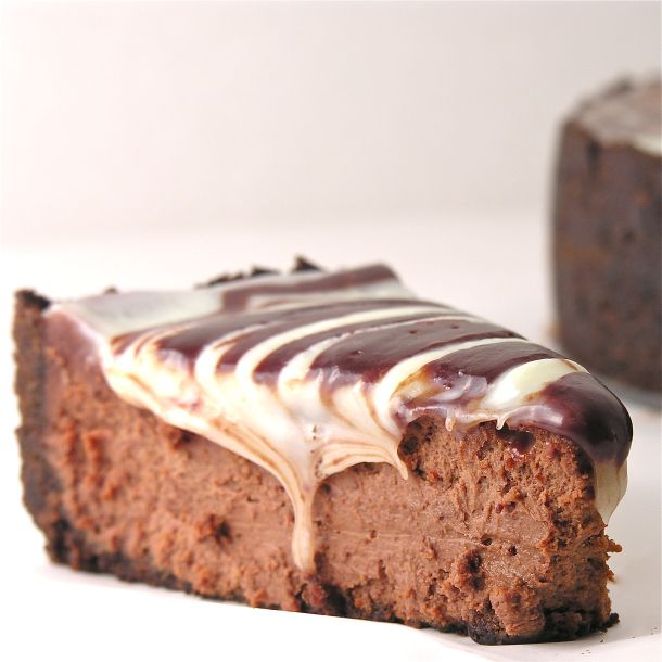 Triple Chocolate Cheesecake 3 | food and drink | Pinterest