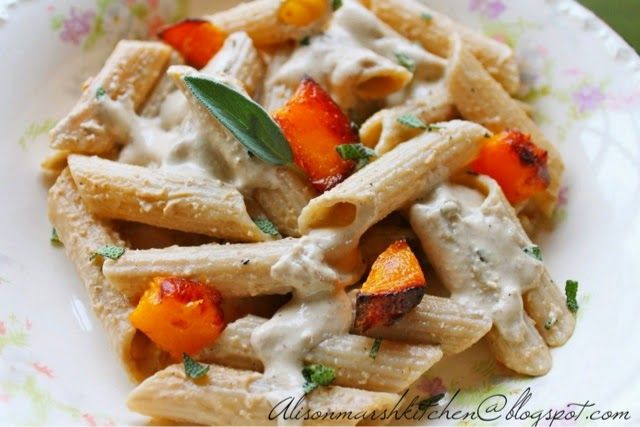 sage and pine nuts butternut squash italian sausage and sage pasta ...