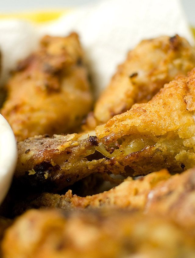 Buttermilk Fried Chicken with Pan Gravy   gravy   Pinterest