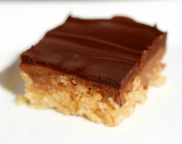 Peanut Butter Crispy Bars