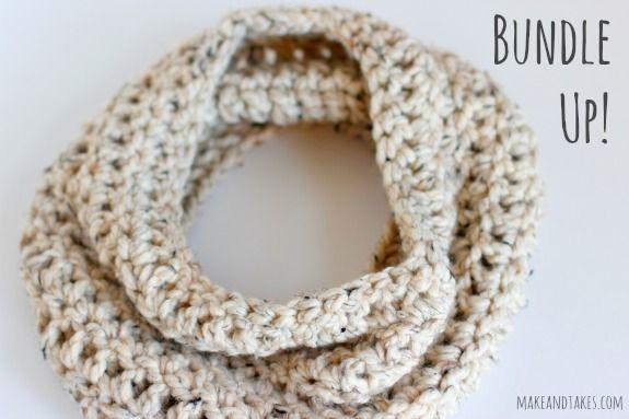 Crochet-A-Day: Chunky Crochet Cowl