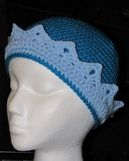 Knitting Pattern Jughead Hat : Prince crown beanie Crochet hats and headbands Pinterest