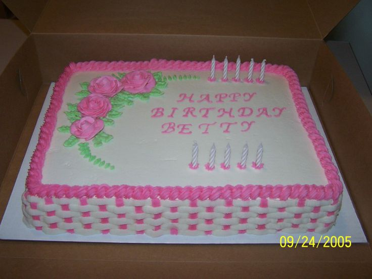 Birthday Cake Images For Aunt : Aunt+Betty s+Birthday+Cake cakes fancy Pinterest