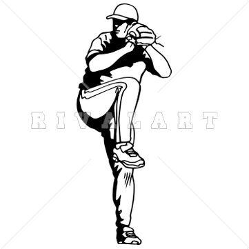 Pin by Rivalart.com on Baseball Clip Art | Pinterest