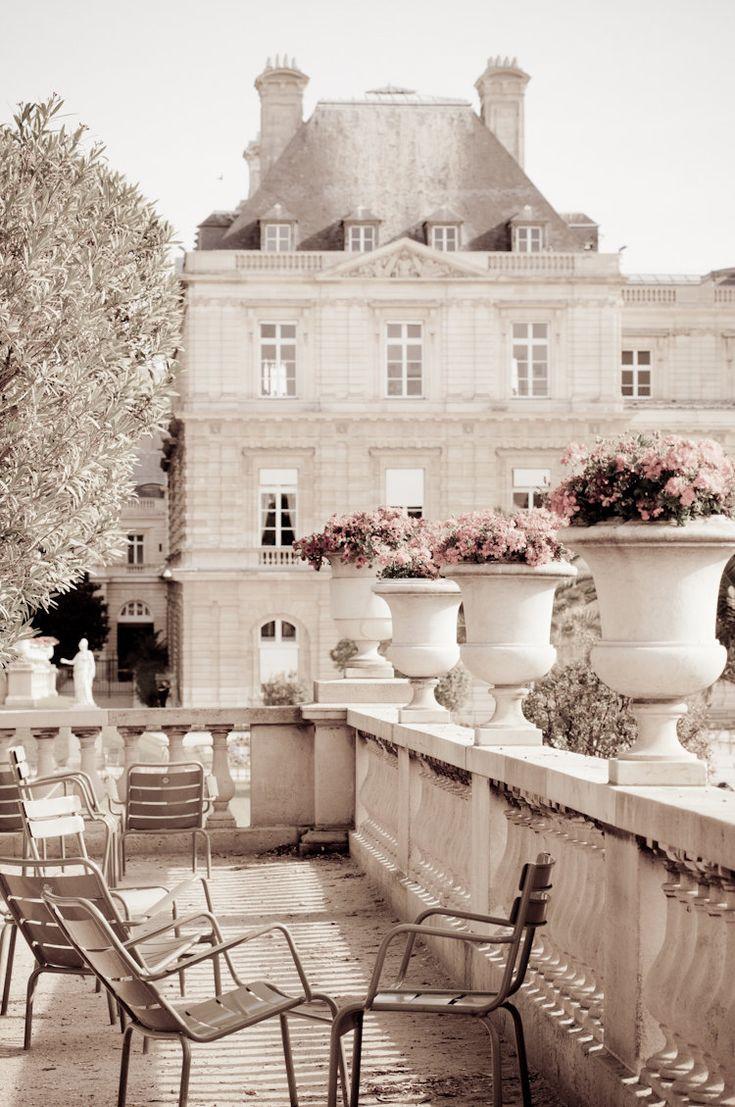 Paris Photo Luxembourg Garden Paris decor Neutrals by ParisPlus
