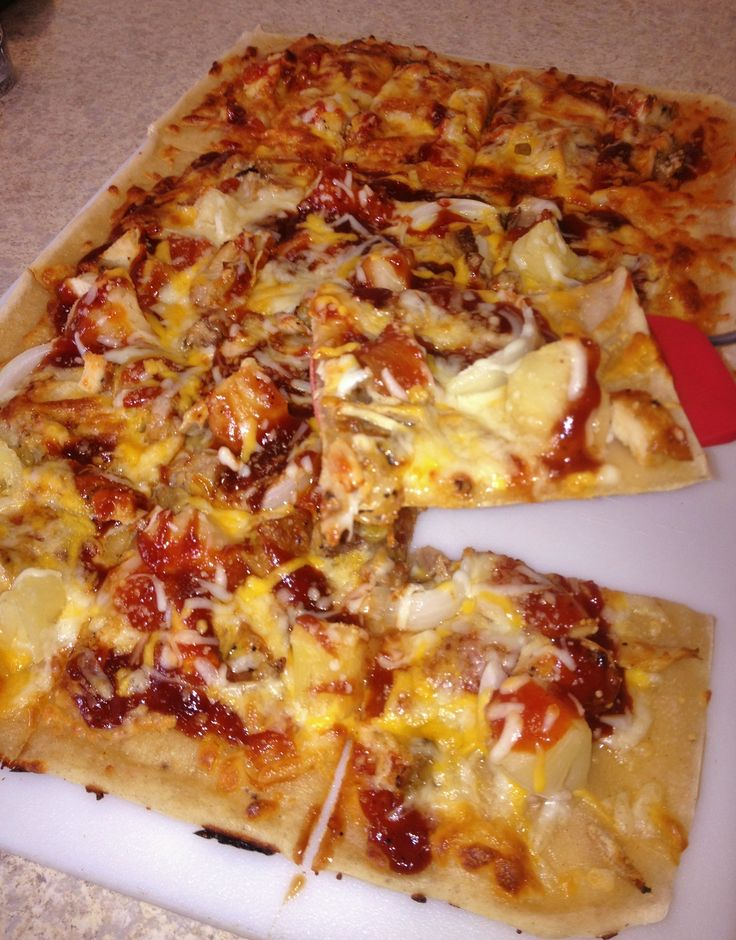 Gluten-Free BBQ Pizza - great for left-over grilled chicken ...