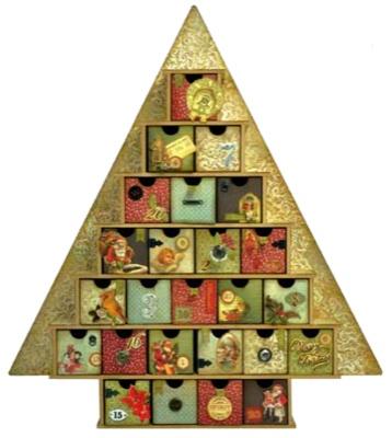 Large Advent Tree Calendar   Ideas   Pinterest