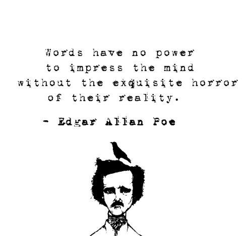 Edgar Allan Poe Quote i like this Pinterest