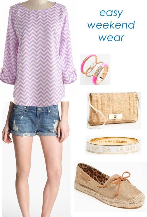 fridays fancies - easy weekend wear