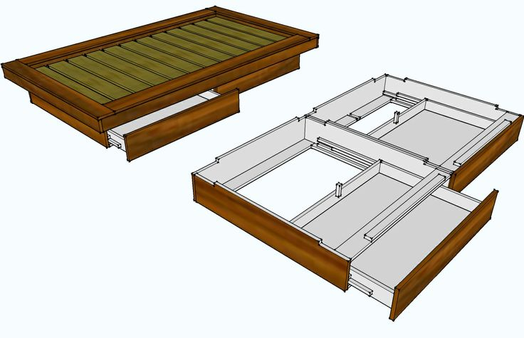 How to Make Platform Bed Frame
