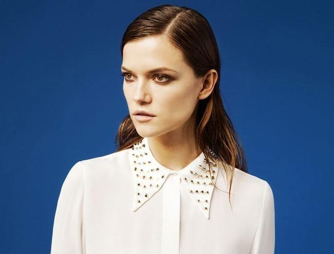 Nova coleção da Zara: Adorei a camisa com spikes na gola.