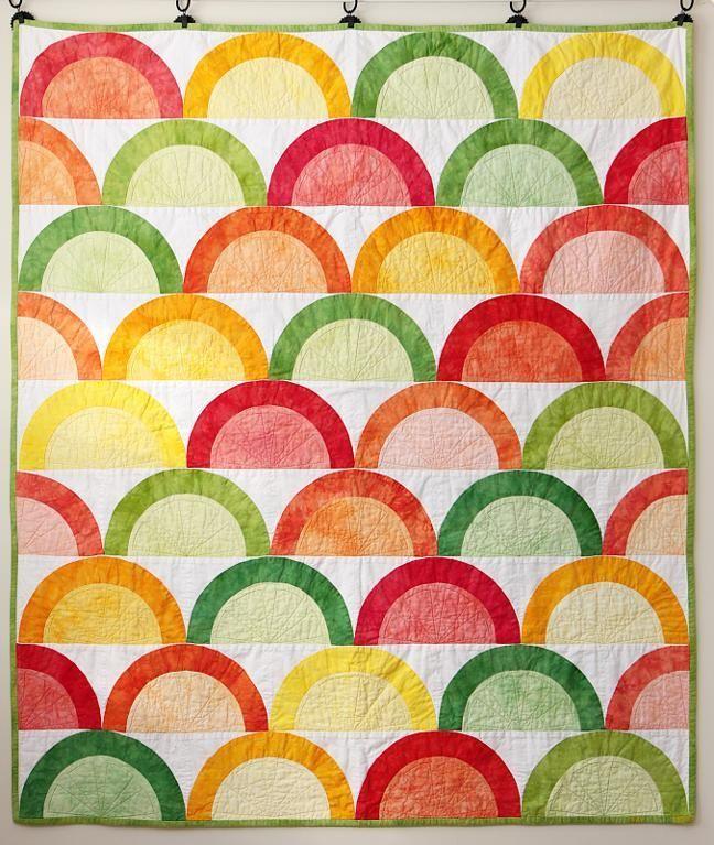 Citrus pattern on Craftsy.com Quilt Pinterest