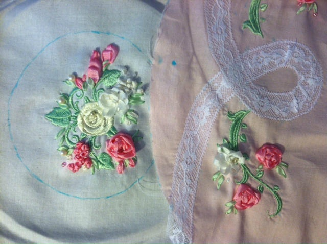 Pin By Marcie Hart On Ribbonwork And Needlework  Pinterest