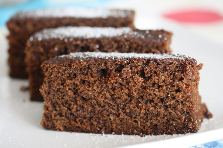 Black Sticky Gingerbread | Holiday Treats | Pinterest