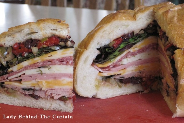 Muffuletta Sandwich | Recipe