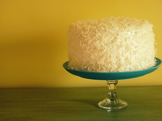 Devil's Food Cake With Seven-Minute Icing And Coconut Recipe ...