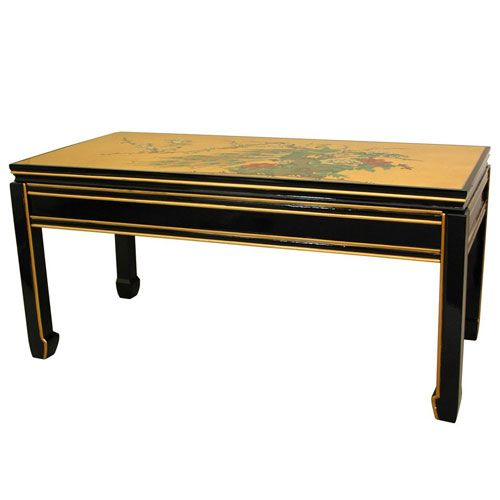 Gold Leaf Coffee Table Coffee Tables Pinterest