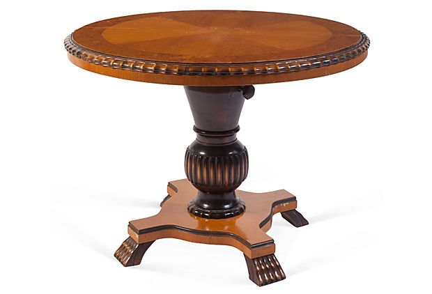 Dining Table Round Adjustable Table