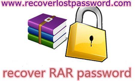 recover rar password