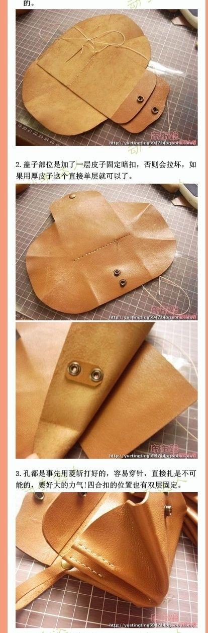 Выкройка мужской сумки своими руками выкройки