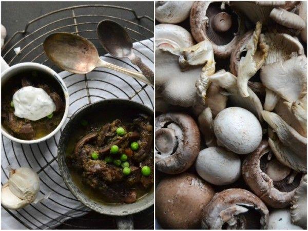 Mushroom stew   Soup's On   Pinterest
