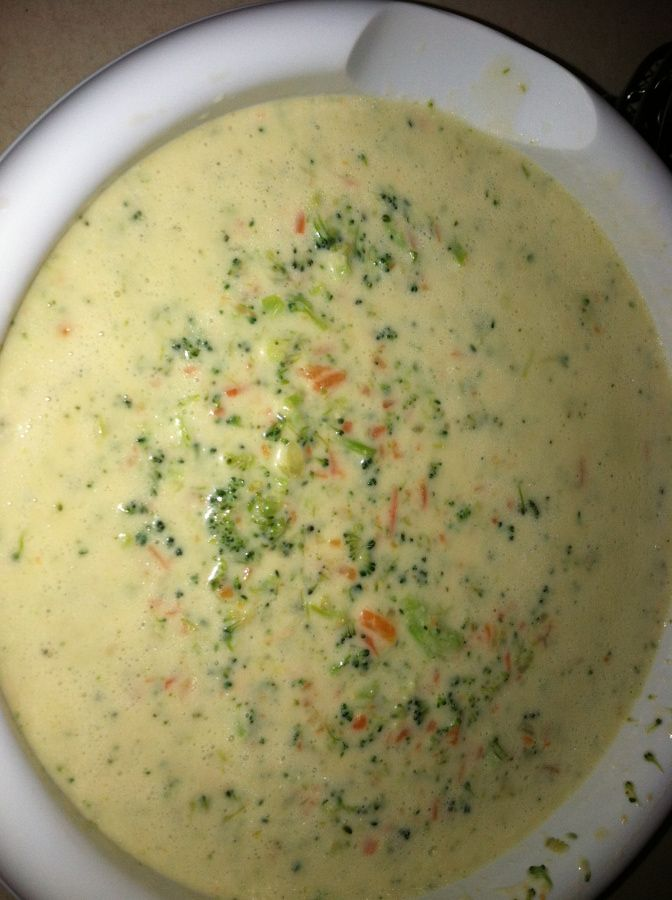 Panera Broccoli Cheddar Soup | Foods to try | Pinterest