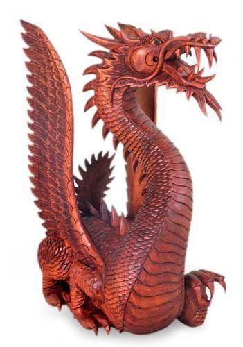 Wood carved dragon carvings sculpures pinterest