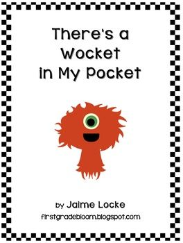 Wocket in my pocket writing activity