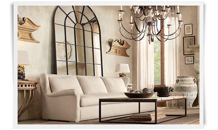living room restoration hardware living room pinterest