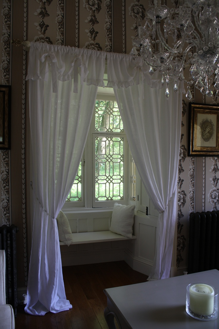 Beautiful Window Seat In The Gate Lodge For The Home Pinterest