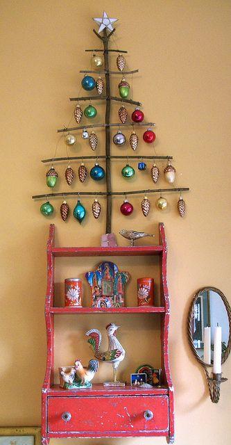 オーナメントクリスマスツリー飾り方