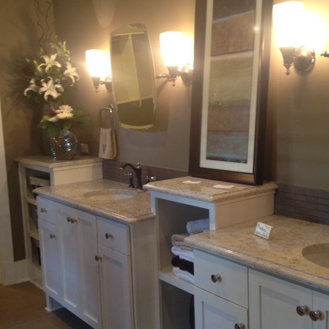 Beautiful master bathroom for the home pinterest for Beautiful small master bathrooms