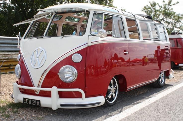 Beautiful 21 window vw bus cars i love pinterest for 14 window vw bus