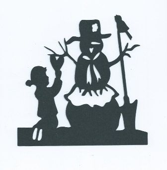 Building a snowman silhouette by hilemanhouse on Etsy, $1.99