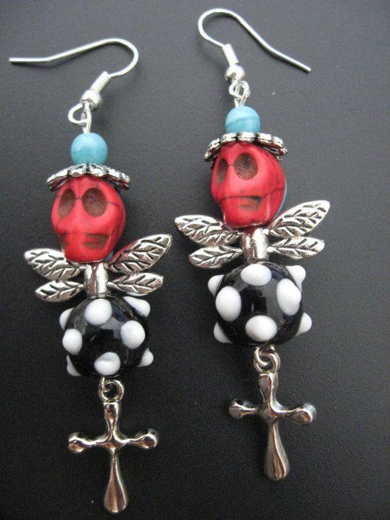 Skull Jewelry Earrings Skull Earrings DOD Jewelry by jewelryrow