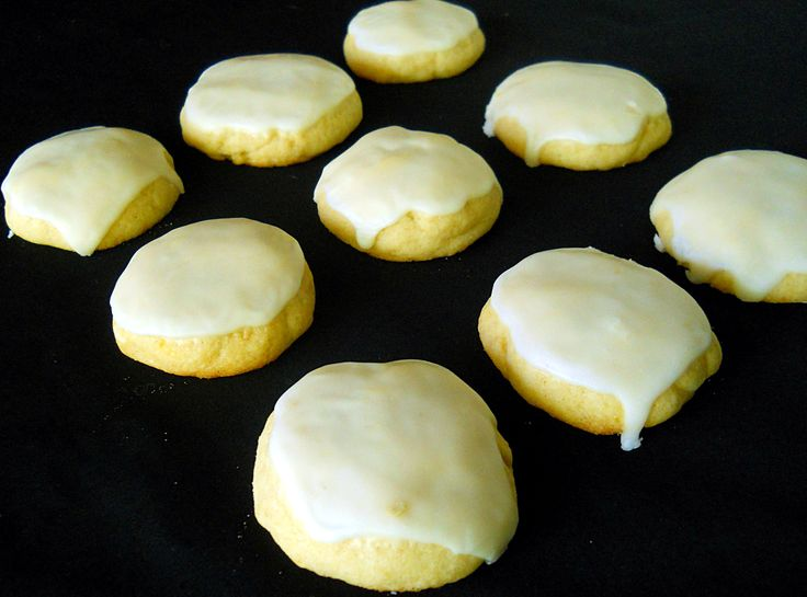 Glazed Lemon Cookies | Food | Pinterest