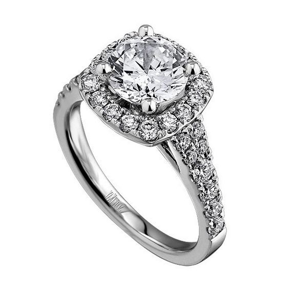 Halo engagement rings kay jewelers dream engagement pinterest
