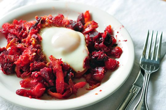 Red flannel hash, an invention of the first New England colonists. Old ...