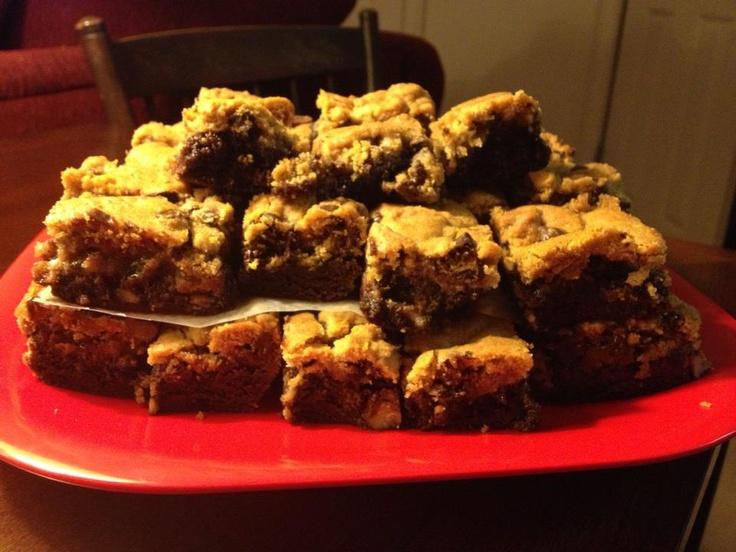 made this Pillsbury Praline Brookies recipe tonight- so tasty and ...