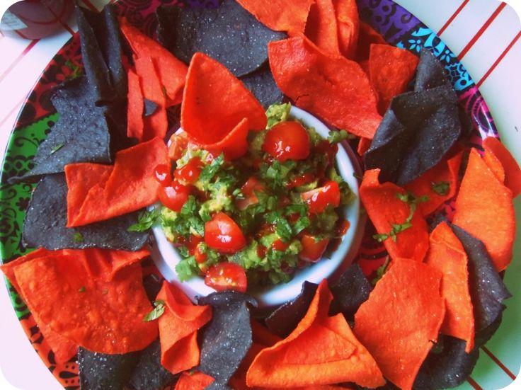 Spicy Garlic Guacamole with Sriracha - Hispanic Kitchen
