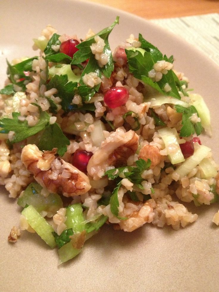 ... blue cheese and hazelnut salad crunchy celery and romaine heart salad