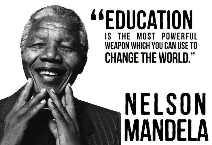 Nelson Mandela quote For the Classroom Pinterest