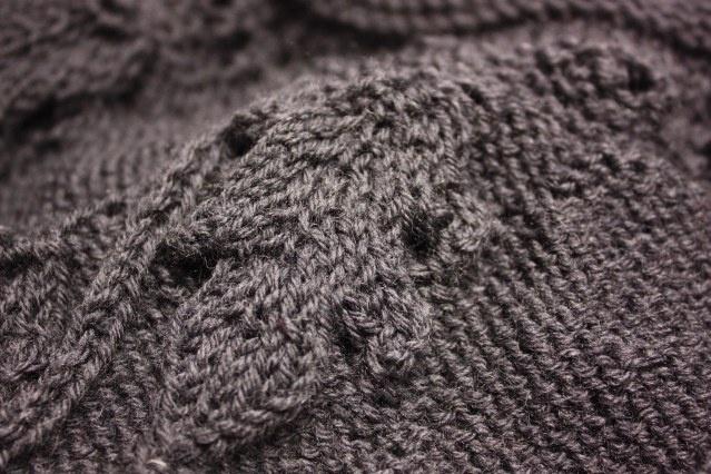 Knitting Pattern Oak Leaf : oak leaf knit (knitting needle) Pinterest