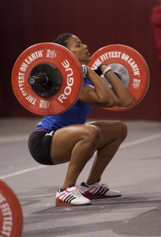 Elisabeth Akinwale  Squat  CrossFitElisabeth Akinwale