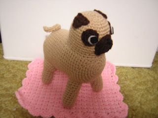 Amigurumi Free Patterns Dog : Pug Amigurumi free Crochet Pattern Crochet Pinterest